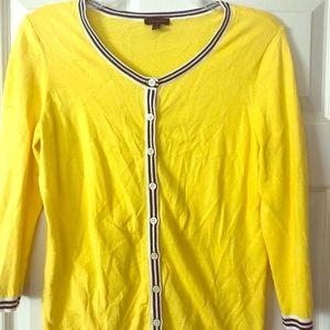 Yellow Talbots Cardigan
